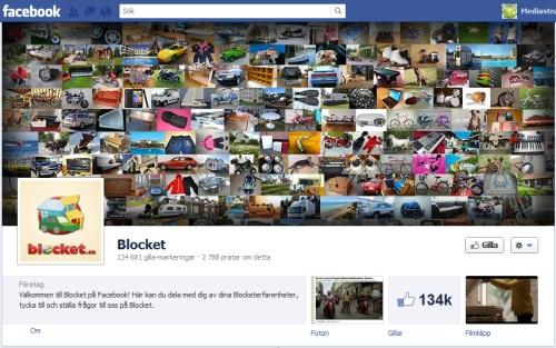 blocket facebook