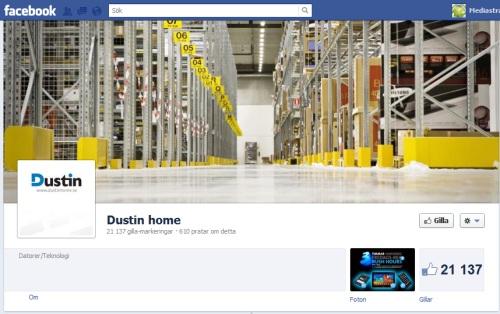 dustin facebook